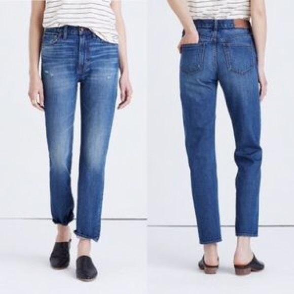 759a6eff34 Madewell Jeans | Perfect Vintage Jean Medium Wash | Poshmark